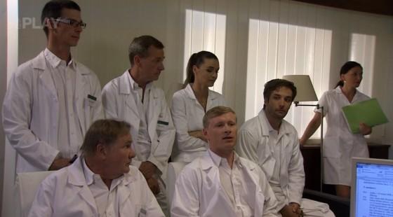 Schůze všech doktorů.