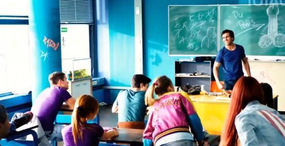 Německá komedie Fakjů pane učiteli (2014)
