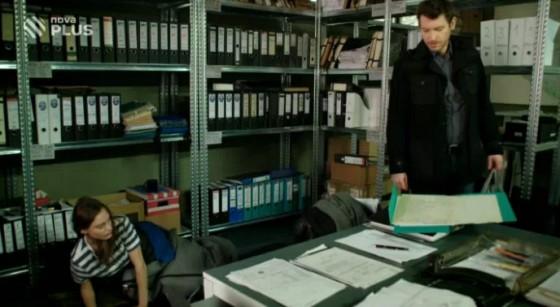 Policejní práce obnáší i spoustu papírování.