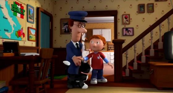 Pat je opravdu oblíbeným pošťákem.