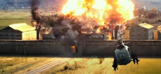 O výbuchy nebo v Expendables 3 rozhodně nouze.