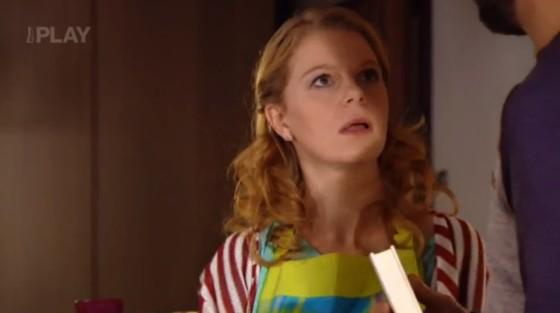 Míša se ošklivě pohádá s Dominikem a odjede pryč.